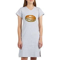 Bagel and Cream Cheese Women's Nightshirt