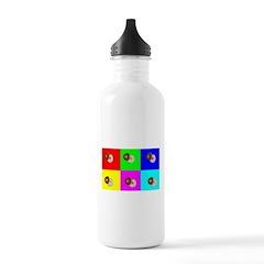 Andy Warhola Bagels Water Bottle