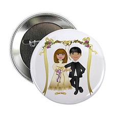 Bride & Groom Button