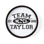 Team Taylor XXL - LDS T-Shirt Wall Clock