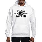 Team Taylor XXL - LDS T-Shirt Hooded Sweatshirt