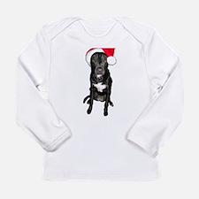 Santa Dog Long Sleeve Infant T-Shirt