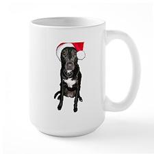 Santa Dog Mug
