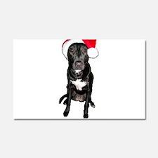 Santa Dog Car Magnet 20 x 12