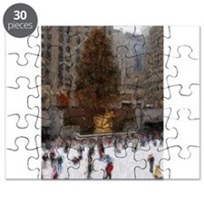 Rockefeller Center Tree Puzzle