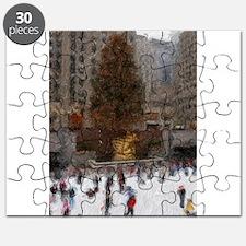 Rockefeller Center Tree Puzzle
