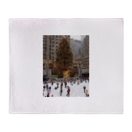 Rockefeller Center Tree Throw Blanket