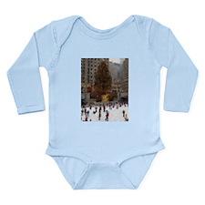 Rockefeller Center Tree Long Sleeve Infant Bodysui