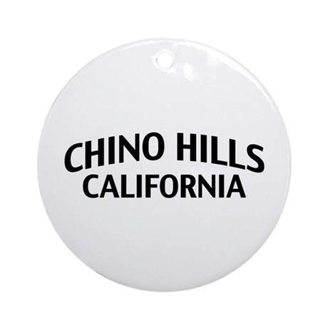 Chino Hills California Ornament (Round)