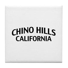 Chino Hills California Tile Coaster