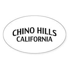 Chino Hills California Decal