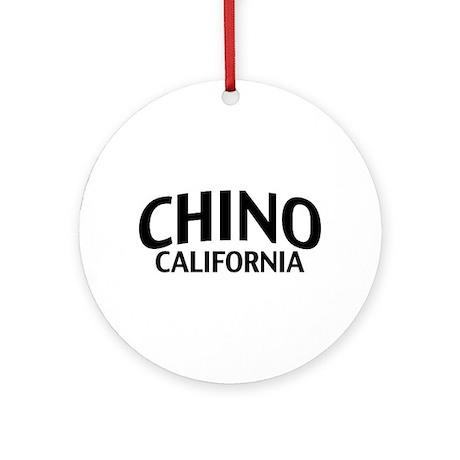 Chino California Ornament (Round)
