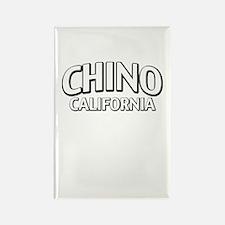 Chino California Rectangle Magnet