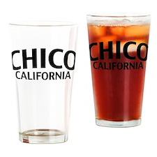 Chico California Drinking Glass
