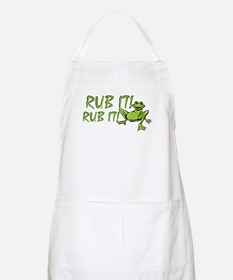 Rub it Frog BBQ Apron