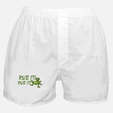 Rub it Frog Boxer Shorts