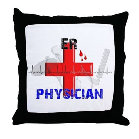 Emergency Room Throw Pillow