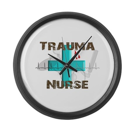 emergency room large wall clock by nurseii