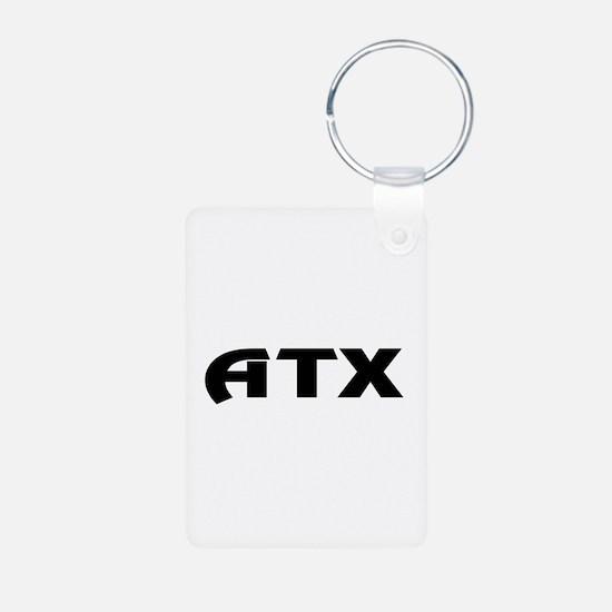 ATX Austin Texas Keychains