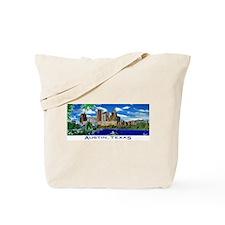 Austin, Texas Skyline Tote Bag
