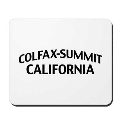 Colfax-Summit California Mousepad