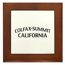 Colfax-Summit California Framed Tile