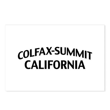 Colfax-Summit California Postcards (Package of 8)