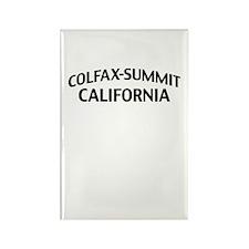 Colfax-Summit California Rectangle Magnet