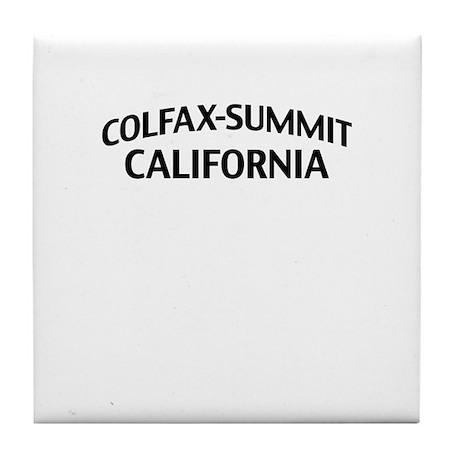 Colfax-Summit California Tile Coaster