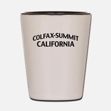 Colfax-Summit California Shot Glass