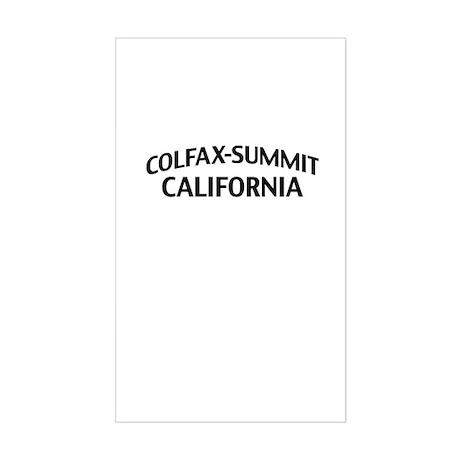 Colfax-Summit California Sticker (Rectangle)