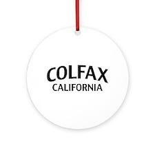 Colfax California Ornament (Round)