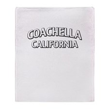 Coachella California Throw Blanket