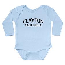 Clayton California Long Sleeve Infant Bodysuit