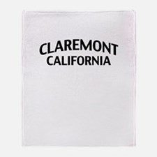 Claremont California Throw Blanket