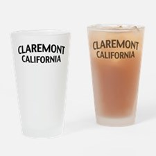 Claremont California Drinking Glass