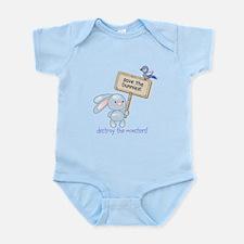 save the bunnies! Infant Bodysuit