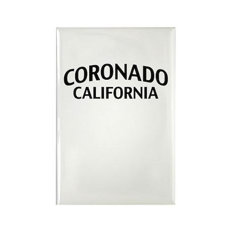 Coronado California Rectangle Magnet