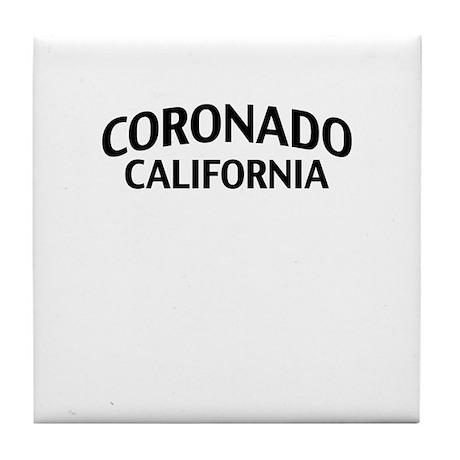 Coronado California Tile Coaster