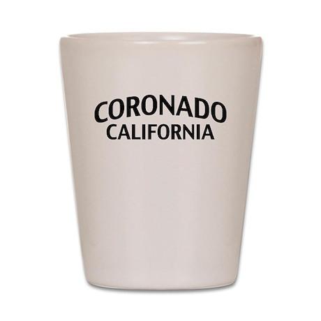 Coronado California Shot Glass