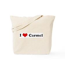 I Love Carmel Tote Bag