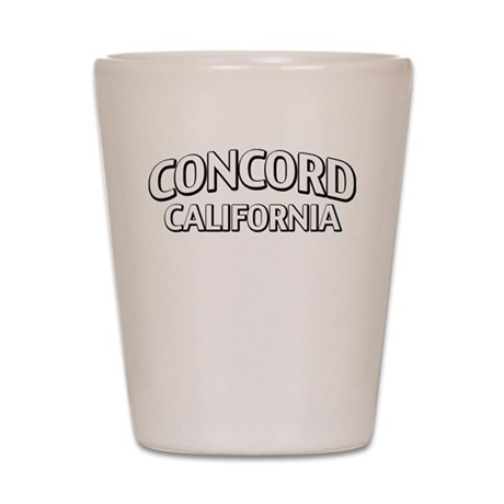Concord California Shot Glass