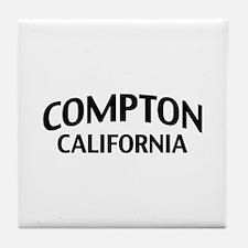 Compton California Tile Coaster