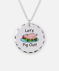 Pig Out Necklace