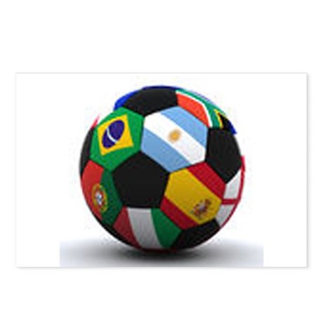 World Cup Soccer Ball Postcards (Package of 8)
