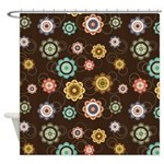 Chic Floral Shower Curtain