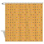 Retro Circuitry Shower Curtain