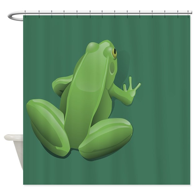 Tree Frog Shower Curtain By Kippygocontempo