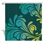 Almost Paisley Shower Curtain