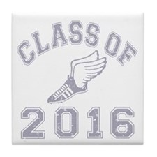 Class of 2016 Track & Field Tile Coaster